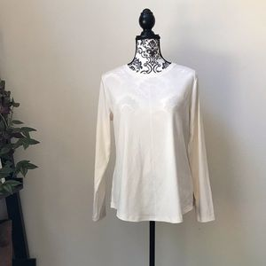 Isaac Mizrahi Live long sleeve t-shirt